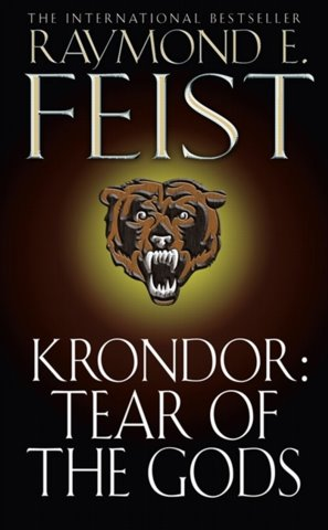 Australian Paperback - Raymond E. Feist - Krondor Tear of the Gods