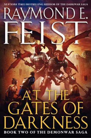 Raymond E. Feist At the Gates of Darkness (US Hardcover)