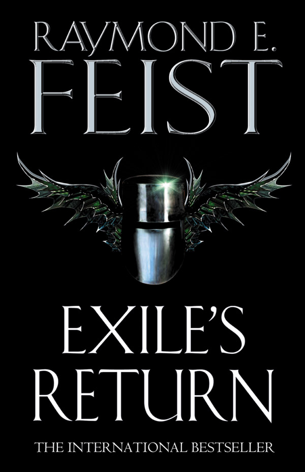 UK - Exiles Return - Cover by Dominic Forbes